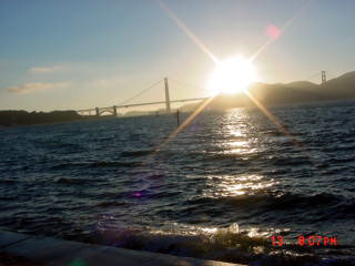 Classic Sunset on the Golden Gate