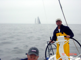 Passing Mari-Cha 2.5 hours after the start
