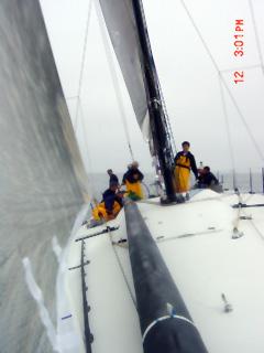 Sailing in light air