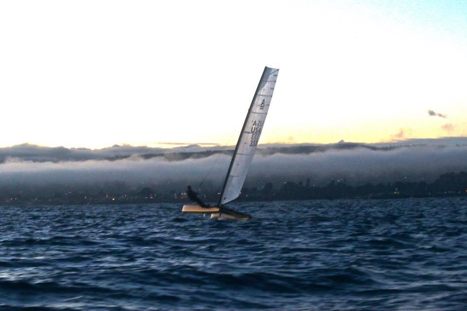 Nov 28 Night falls over Santa Cruz