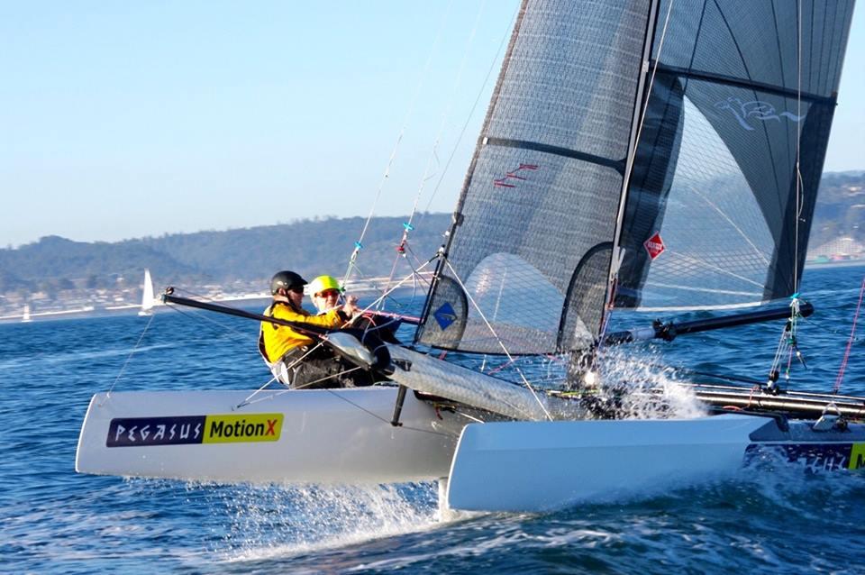 MotionX Foiling Great Pacific Ocean Carbon F20