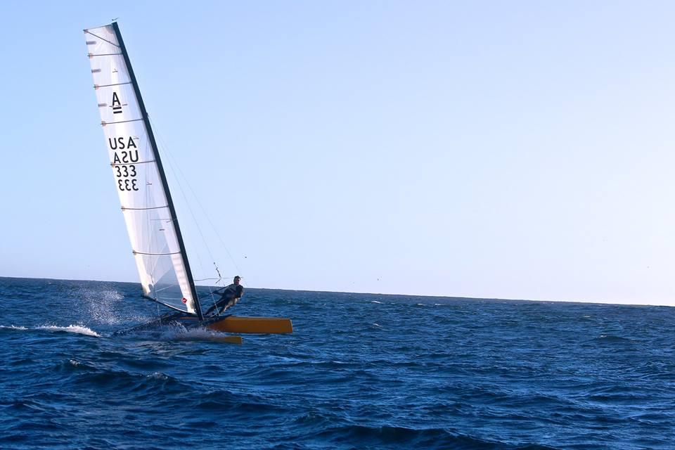 Philippe Kahn, Sailing, Pegasus Racing, The Wind is Back in Santa Cruz